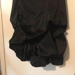 City Triangles Dresses - Sexy Black Formal Strapless Cocktail bubble skirt